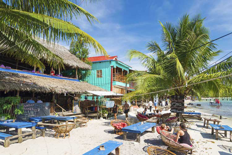 Koh Touch trung tập của đảo Koh Rong